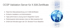 OCSP Validation Server für X.509 Zertifikate
